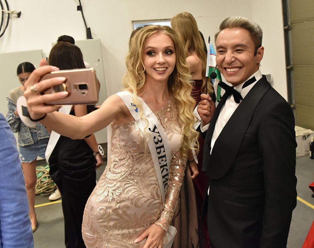 Uczestniczka konkursu Miss WNP 2018