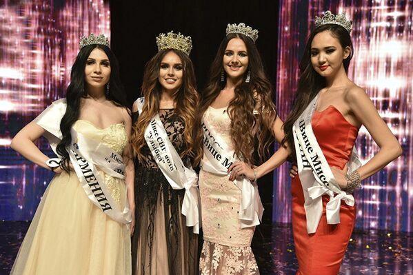 Finalistki konkursu piękności Miss WNP 2018 - Sputnik Polska