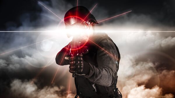 Laserowy karabin AK-47 - Sputnik Polska