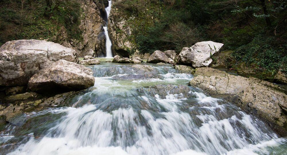 Wodospad Agury, Soczi