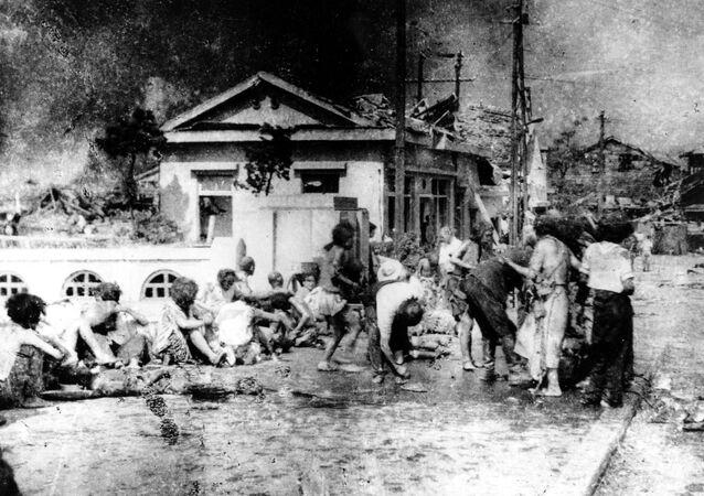 Ofiary ataku atomowego na Hiroszimę i Nagasaki, Japonia