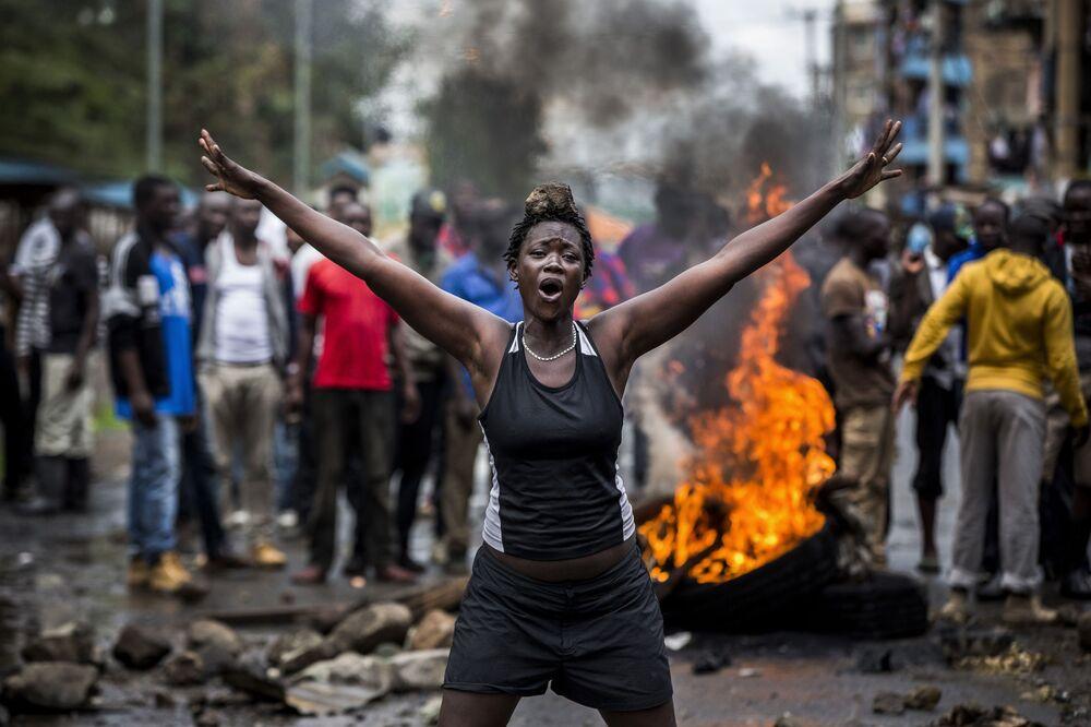 Zamieszki po wyborach w Kenii