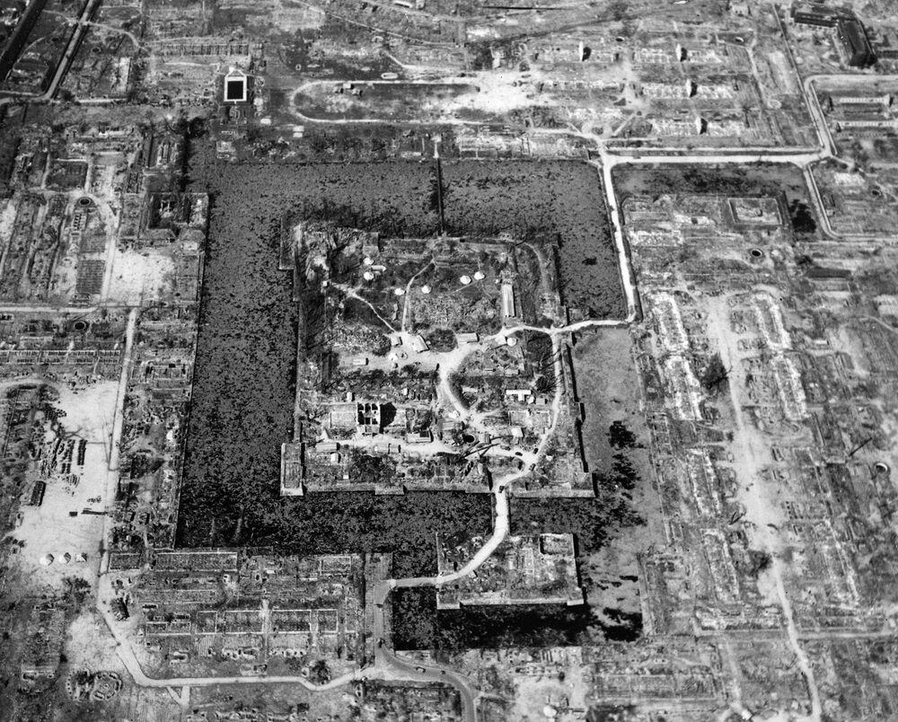 Widok na Hiroszimę, sierpień 1945 rok