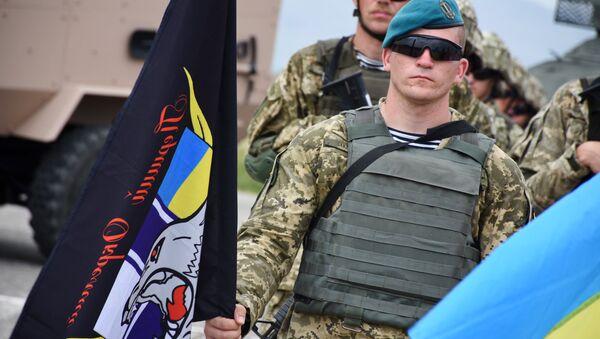 Ukraiński żołnierz - Sputnik Polska