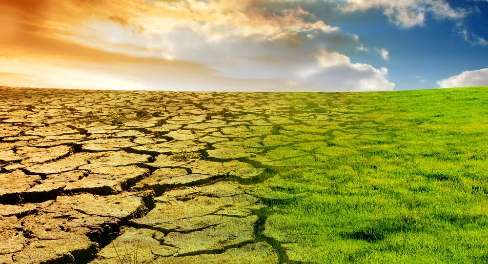 Wizualizacja globalnego ocieplenia