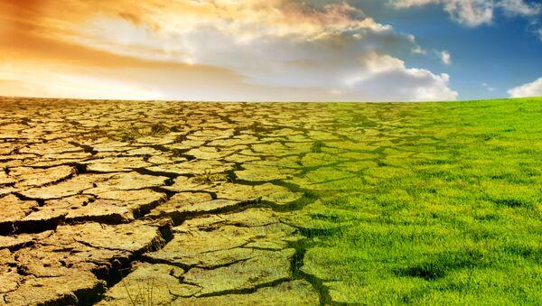 Wizualizacja globalnego ocieplenia - Sputnik Polska