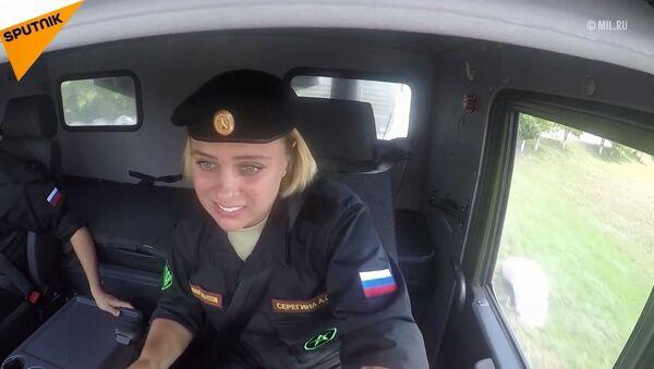 Te subtelne dziewczyny mistrzowsko prowadzą ciężarówki! - Sputnik Polska
