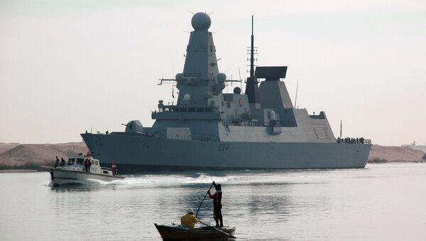 HMS Diamond - Sputnik Polska