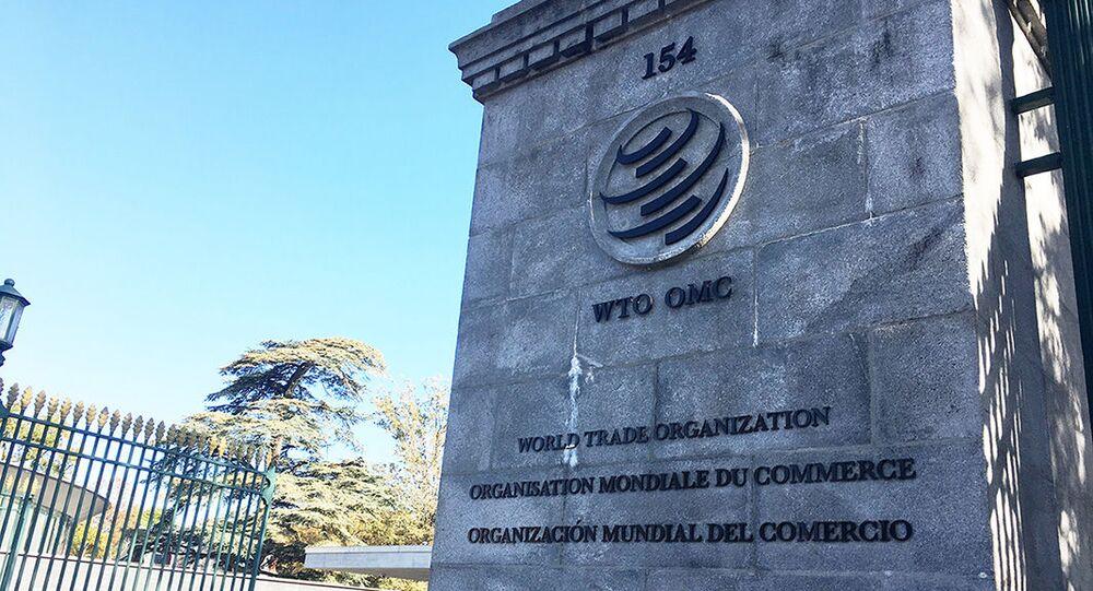 Wjazd na terytorium siedziby WTO