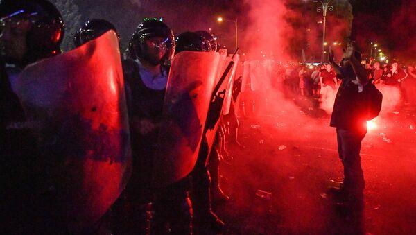Protesty w Bukareszcie, Rumunia - Sputnik Polska