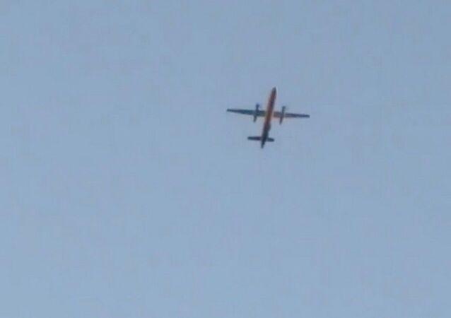 Samolot Bombardier Dash 8 Q400