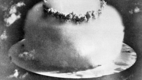 Wybuch bomby wodorodowej na Oceanie Spokojnym - Sputnik Polska