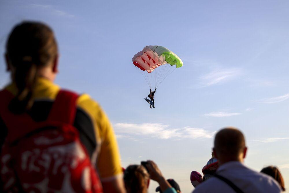 Pokaz lotniczy Wybieram niebo! w Kazaniu