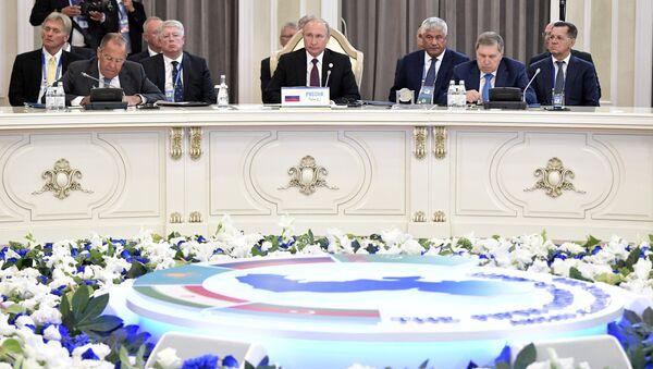 Przywódcy na szczycie w Aktau - Sputnik Polska