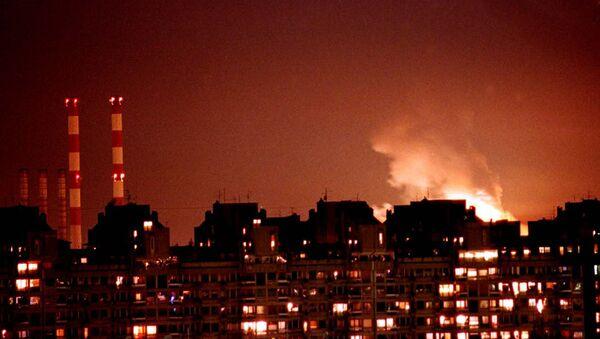Bombardowanie Serbii przez NATO 24 marca 1999 - Sputnik Polska