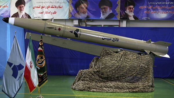 Prezentacja nowego irańskiego pocisku balistycznego typu Fateh nowej generacji - Sputnik Polska