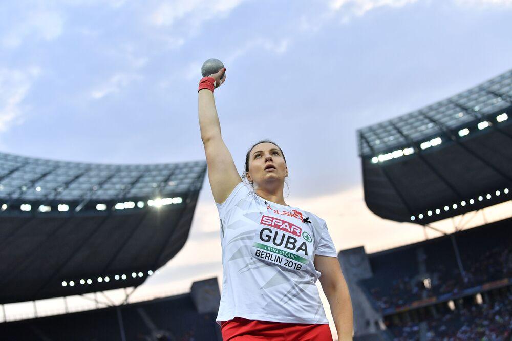 Paulina Guba (AZS UMCS Lublin) zdobyła złoty medal w pchnięciu kulą