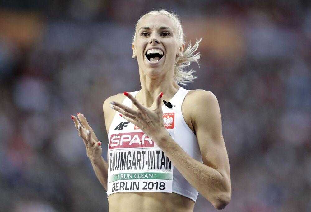 Złoty medal w sztafecie kobiet 4x400 m w składzie Małgorzata Hołub-Kowalik, Iga Baumgart-Witan, Patrycja Wyciszkiewicz, Justyna Święty-Ersetic