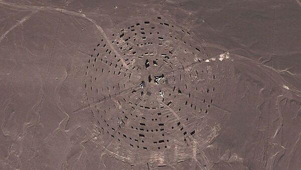 Obiekt przypominający bazę wojskową znaleziony w chińskiej części pustyni Gobi - Sputnik Polska