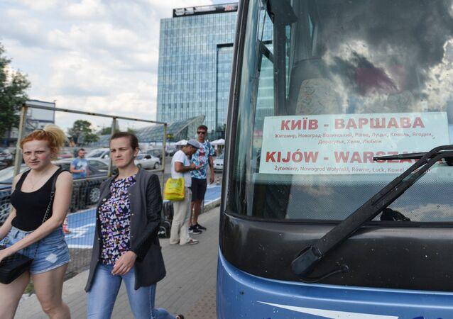 Autobus z Kijowa do Warszawy