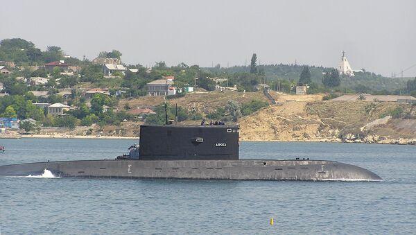 Okręt podwodny B-871 Alrosa w Sewastopolu - Sputnik Polska