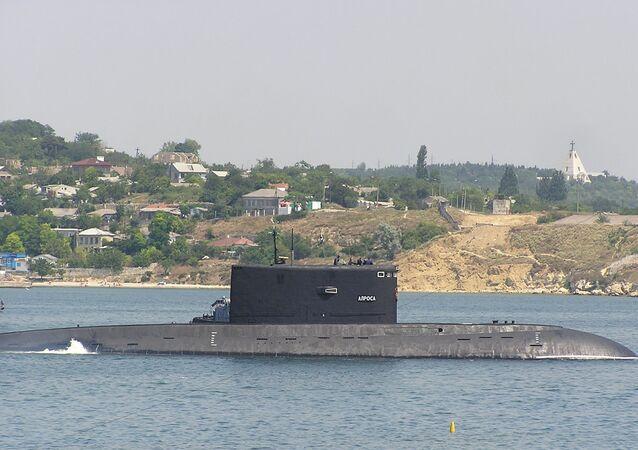 Okręt podwodny B-871 Alrosa w Sewastopolu