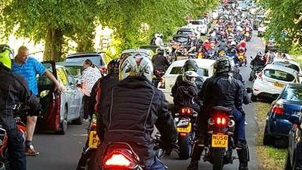 Motocykliści przeciwko huliganom - Sputnik Polska