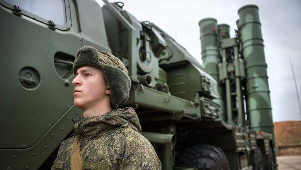 System obrony rakietowej S-400 Triumf. Zdjęcie archiwalne  - Sputnik Polska