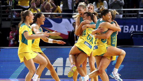 Australijska drużyna netballu zwyciężyła z drużyną Nowej Zelandii w finale Mistrzostw Świata - Sputnik Polska