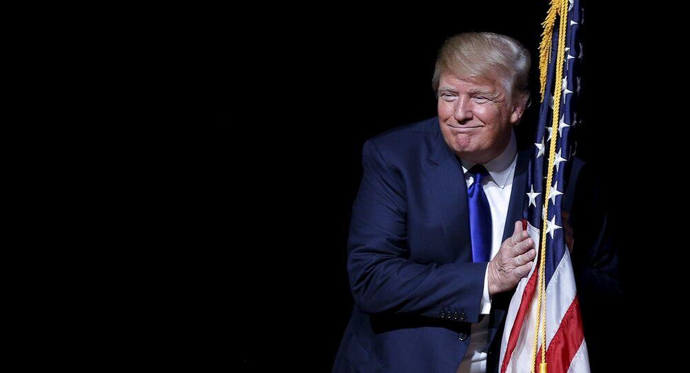 Kanydat na prezydenta USA Donald Trump