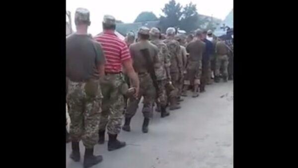 Wyżywinie wojska ukraińskiego - Sputnik Polska
