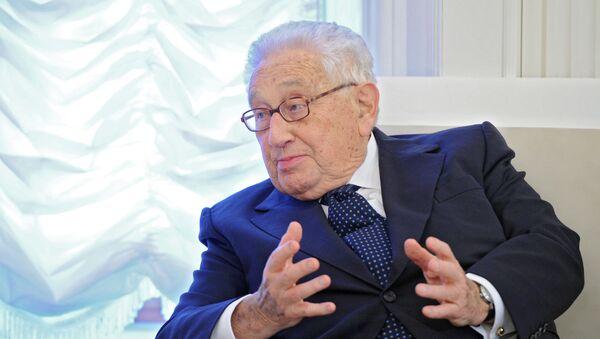 Były sekretarz stanu USA Henry Kissinger - Sputnik Polska