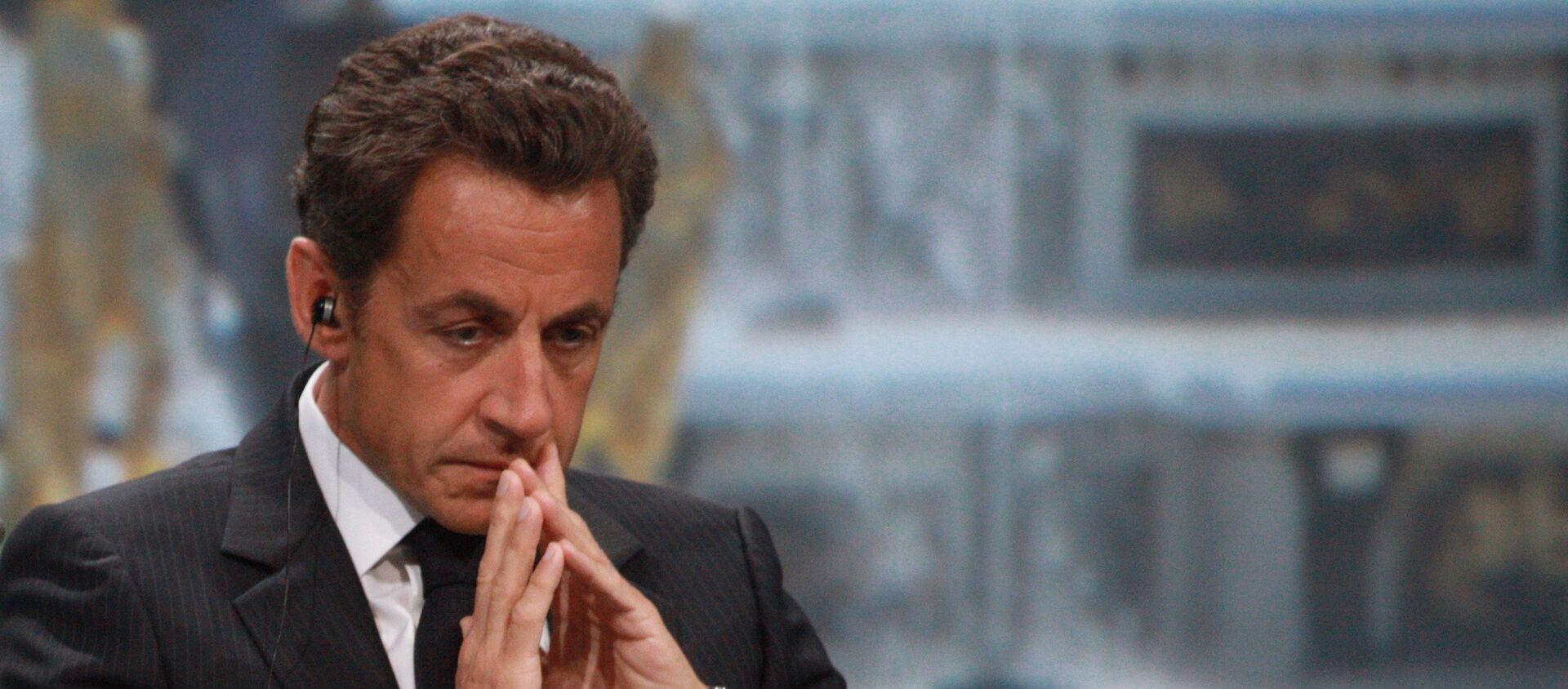 Nicolas Sarkozy - Sputnik Polska, 1920, 24.03.2018