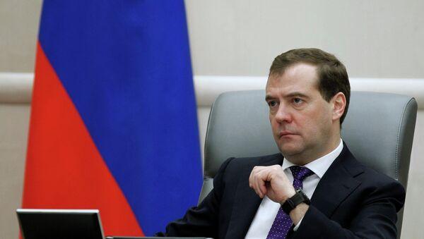 Russian Prime Minister Dmitry Medvedev - Sputnik Polska