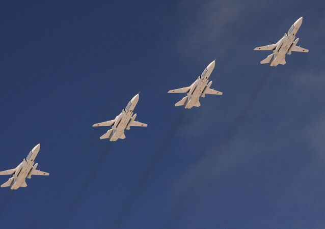 Bombowce Su-24. Zdjęcie archiwalne