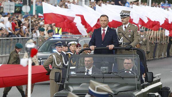 Prezydent Rzeczypospolitej Polskiej Andrzej Duda - Sputnik Polska