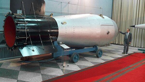 Bomba termojądrowa w rosyjskim muzeum - Sputnik Polska