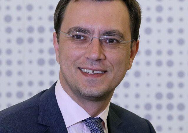 Minister infrastruktury Ukrainy Wołodymyr Omelan