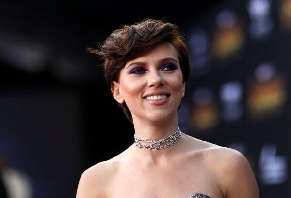 Amerykańska aktorka Scarlett Johansson w Los Angeles - Sputnik Polska