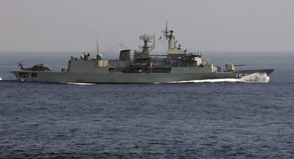 Australijska fregata FFH156 Toowoomba