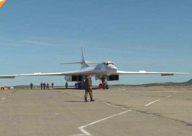 Bombowce strategiczne Tu-160