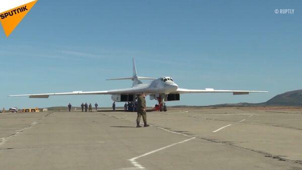 Bombowce strategiczne Tu-160 - Sputnik Polska