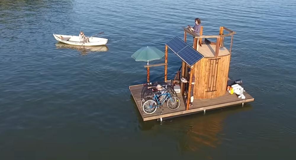 Pływająca sauna