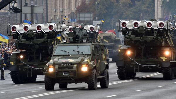System przeciwrakietowy Buk, Ukraina - Sputnik Polska
