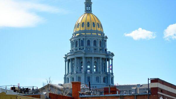 Kapitol w Kolorado, USA - Sputnik Polska