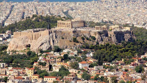 Widok na Akropol i Ateny - Sputnik Polska