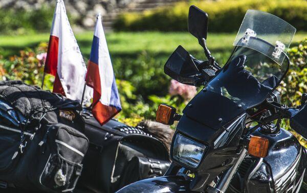 XVIII Międzynarodowy Motocyklowy Rajd Katyński - Sputnik Polska