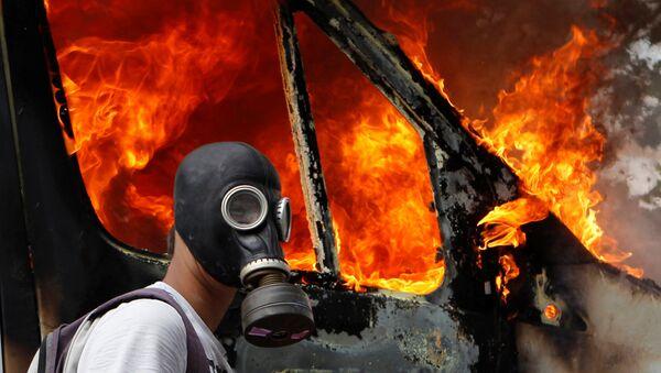 Protesty w Atenach, 2011 rok - Sputnik Polska