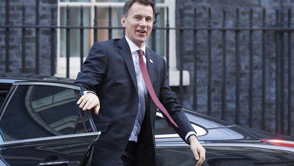 Brytyjski szef dyplomacji Jeremy Hunt - Sputnik Polska