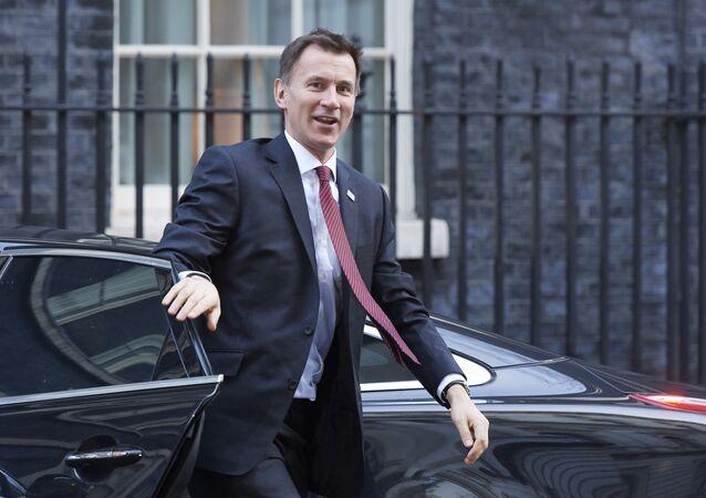 Brytyjski szef dyplomacji Jeremy Hunt